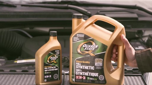Quaker State Ultimate Durability Synthetic Motor Oil - image 9 from the video