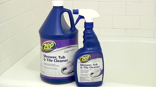 ZEP Commercial Shower, Tub and Tile Cleaner - image 10 from the video