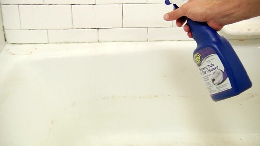 ZEP Commercial Shower, Tub and Tile Cleaner - image 4 from the video