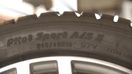 Michelin Pilot Sport A/S 3 - image 6 from the video
