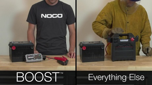 Boost Vs. Everything Else: NOCO Genius Boost, Lithium Ion Jump Starter - image 1 from the video