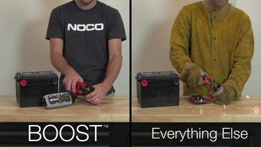 Boost Vs. Everything Else: NOCO Genius Boost, Lithium Ion Jump Starter - image 3 from the video