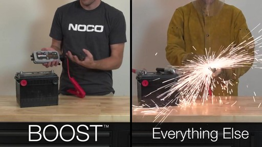 Boost Vs. Everything Else: NOCO Genius Boost, Lithium Ion Jump Starter - image 4 from the video