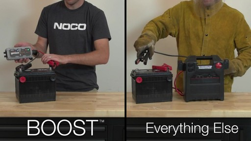 Boost Vs. Everything Else: NOCO Genius Boost, Lithium Ion Jump Starter - image 5 from the video