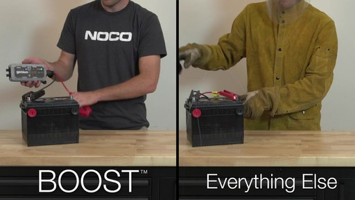 Boost Vs. Everything Else: NOCO Genius Boost, Lithium Ion Jump Starter - image 6 from the video