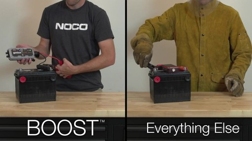 Boost Vs. Everything Else: NOCO Genius Boost, Lithium Ion Jump Starter - image 7 from the video