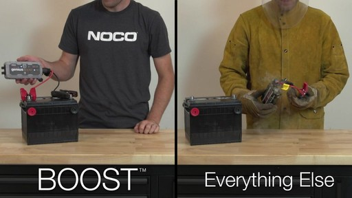 Boost Vs. Everything Else: NOCO Genius Boost, Lithium Ion Jump Starter - image 8 from the video