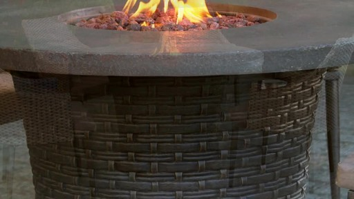 CANVAS Highbury Gas Fire Table - image 4 from the video