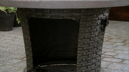 CANVAS Highbury Gas Fire Table - image 6 from the video