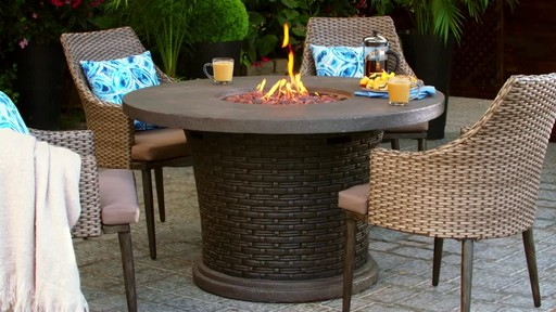 CANVAS Highbury Gas Fire Table - image 9 from the video