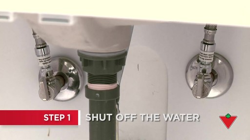 How to Replace a Faucet - image 1 from the video