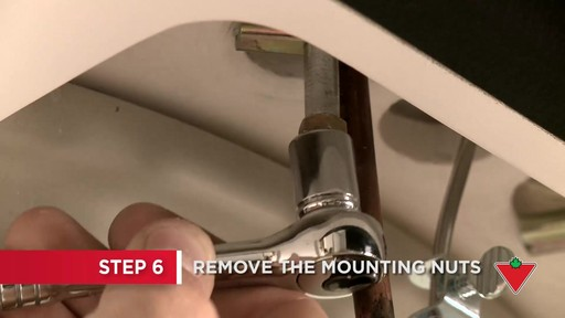 How to Replace a Faucet - image 4 from the video