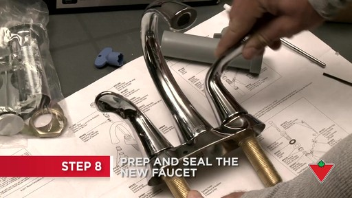 How to Replace a Faucet - image 5 from the video