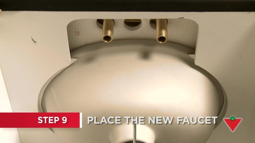 How to Replace a Faucet - image 6 from the video