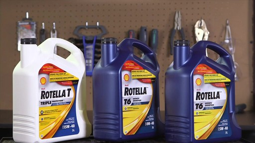 Shell Rotella T 15W-40 Diesel Motor Oil - image 3 from the video