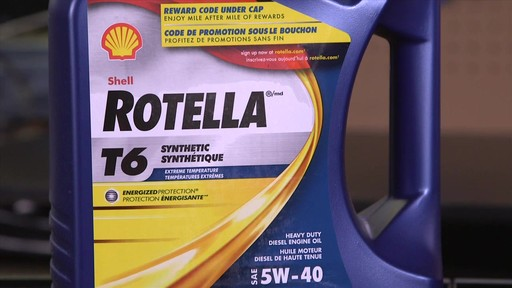 Shell Rotella T 15W-40 Diesel Motor Oil - image 6 from the video