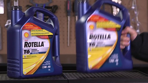 Shell Rotella T 15W-40 Diesel Motor Oil - image 7 from the video