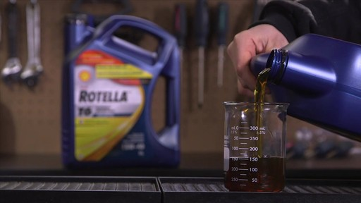 Shell Rotella T 15W-40 Diesel Motor Oil - image 8 from the video
