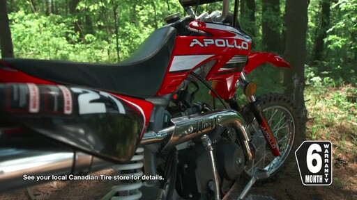 Apollo ADR 110 Dirt Bike - image 8 from the video