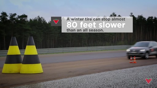 Why avoid driving on winter tires in summer?   - image 7 from the video