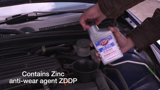 STP High Mileage Oil Treatment - image 3 from the video