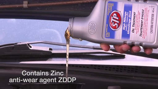 STP High Mileage Oil Treatment - image 4 from the video