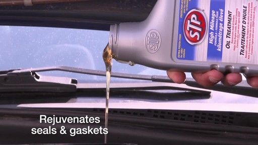 STP High Mileage Oil Treatment - image 5 from the video