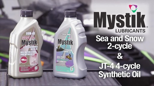 Mystik Sea and Snow 2-cycle & JT-4 4-cycle oils  - image 1 from the video