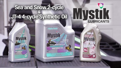 Mystik Sea and Snow 2-cycle & JT-4 4-cycle oils  - image 10 from the video