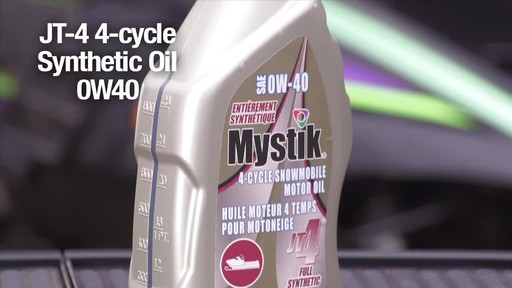 Mystik Sea and Snow 2-cycle & JT-4 4-cycle oils  - image 2 from the video