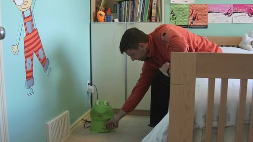 Crane Ultrasonic Frog Humidifier- Franco's Testimonial - image 10 from the video
