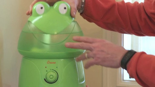Crane Ultrasonic Frog Humidifier- Franco's Testimonial - image 4 from the video