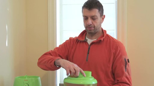 Crane Ultrasonic Frog Humidifier- Franco's Testimonial - image 6 from the video