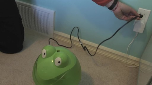 Crane Ultrasonic Frog Humidifier- Franco's Testimonial - image 8 from the video