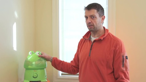 Crane Ultrasonic Frog Humidifier- Franco's Testimonial - image 9 from the video