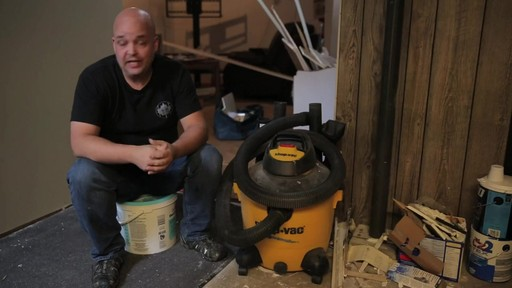 Shop-Vac®Pump Wet/Dry Vacuum - Rudy's Testimonial - image 2 from the video