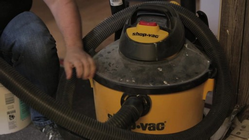 Shop-Vac®Pump Wet/Dry Vacuum - Rudy's Testimonial - image 7 from the video