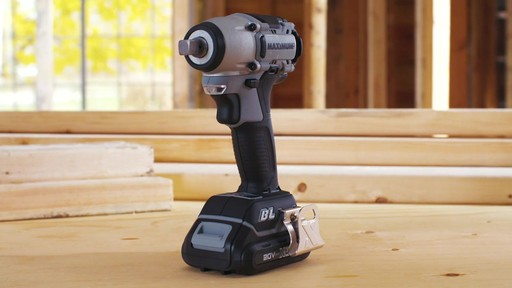 MAXIMUM 20V Brushless 1/2-in Impact Wrench - image 1 from the video