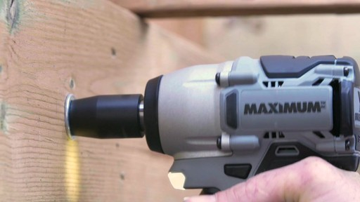 MAXIMUM 20V Brushless 1/2-in Impact Wrench - image 2 from the video