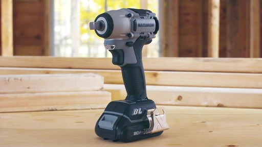 MAXIMUM 20V Brushless 1/2-in Impact Wrench - image 8 from the video