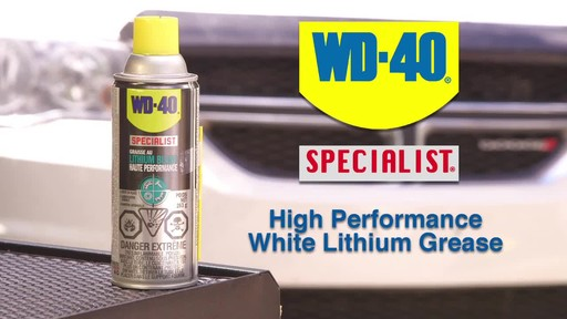 WD-40 Specialist High Performance White Lithium Grease - image 1 from the video