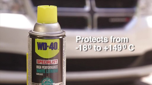 WD-40 Specialist High Performance White Lithium Grease - image 8 from the video