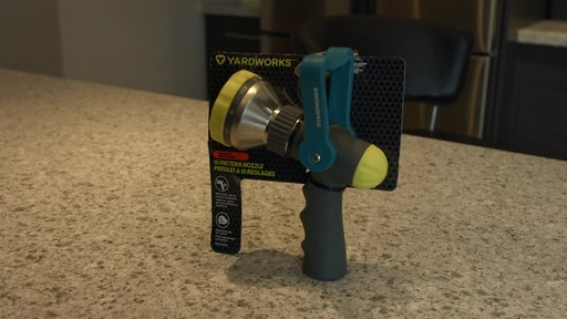Yardworks Fireman 10 Pattern Nozzle- Ugo's Testimonial - image 10 from the video
