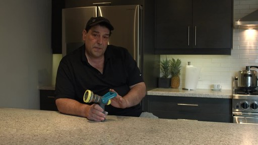 Yardworks Fireman 10 Pattern Nozzle- Ugo's Testimonial - image 2 from the video