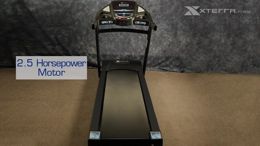 Xterra XT900T Treadmill - image 4 from the video