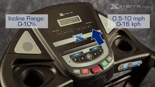 Xterra XT900T Treadmill - image 5 from the video