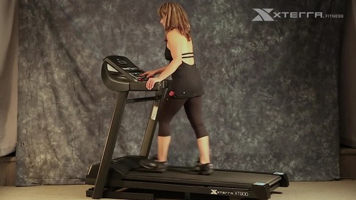 Xterra XT900T Treadmill - image 7 from the video