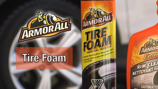Armor All Tire Foam - image 1 from the video