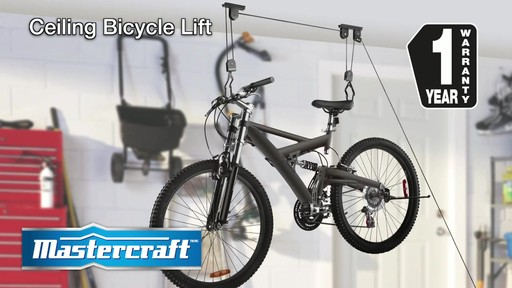 Mastercraft Ceiling Bicycle Lift - image 10 from the video