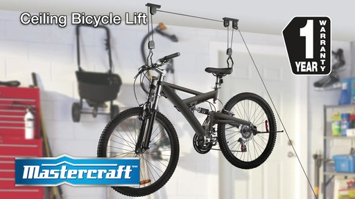 Mastercraft Ceiling Bicycle Lift - image 9 from the video